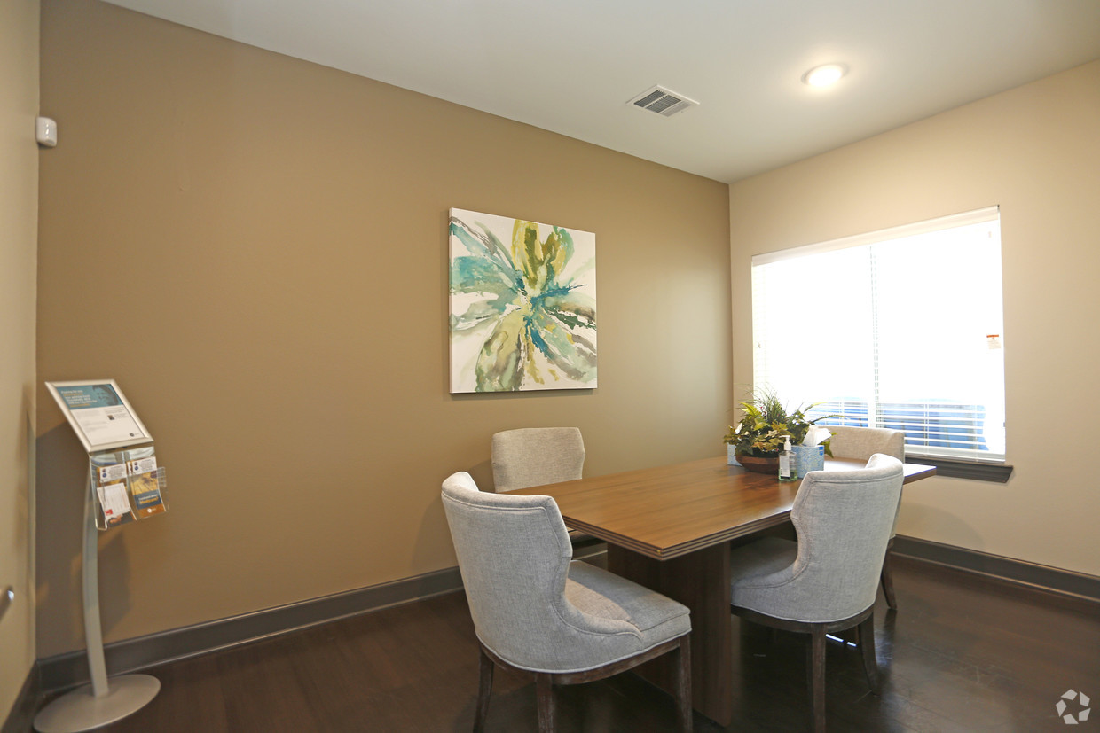 Conference room at The Villages at Fiskville retirement community