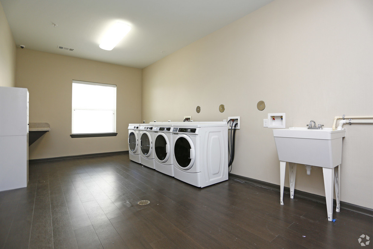 Villages at Fiskville community laundry facility