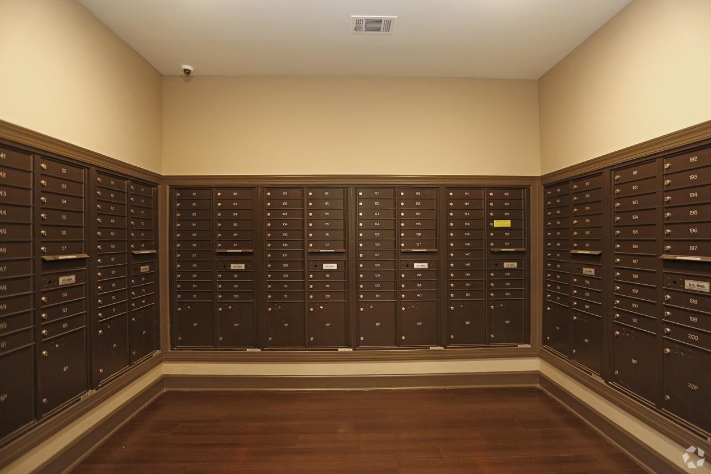 Villages at Fiskville mail room